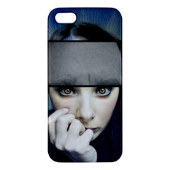 Fibro Brain Apple Iphone 5 Premium Hardshell Case