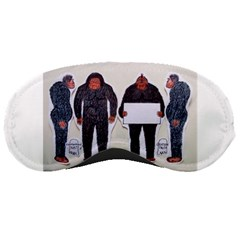 4 Yeti,1 Text Board  Sleeping Mask