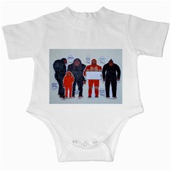 Neanderthal & 4 Big Friends, Infant Bodysuit