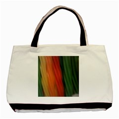0718141618 Twin-sided Black Tote Bag