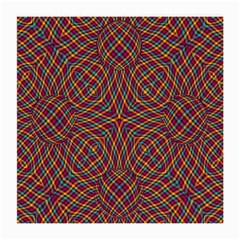 Trippy Tartan Glasses Cloth (medium, Two Sided)