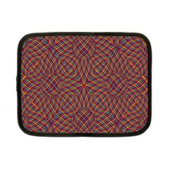Trippy Tartan Netbook Sleeve (small)