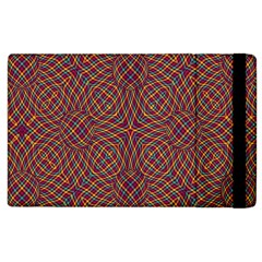 Trippy Tartan Apple iPad 2 Flip Case