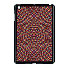 Trippy Tartan Apple Ipad Mini Case (black)