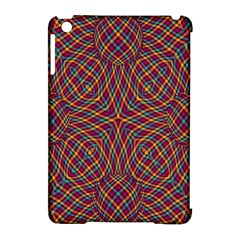 Trippy Tartan Apple iPad Mini Hardshell Case (Compatible with Smart Cover)