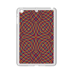 Trippy Tartan Apple iPad Mini 2 Case (White)
