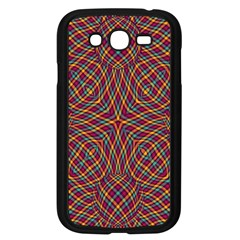 Trippy Tartan Samsung Galaxy Grand Duos I9082 Case (black)