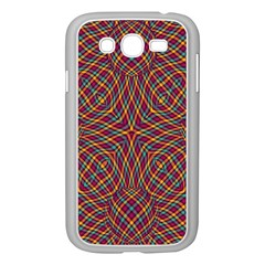 Trippy Tartan Samsung Galaxy Grand DUOS I9082 Case (White)