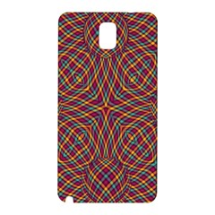 Trippy Tartan Samsung Galaxy Note 3 N9005 Hardshell Back Case