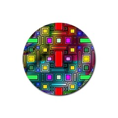 Abstract Modern Drink Coasters 4 Pack (Round)