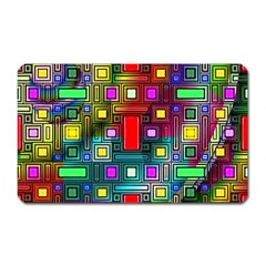 Abstract Modern Magnet (rectangular)