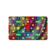 Abstract Modern Magnet (Name Card)
