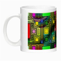 Abstract Modern Glow In The Dark Mug