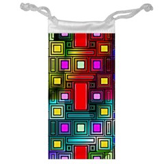 Abstract Modern Jewelry Bag
