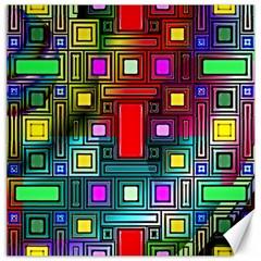 Abstract Modern Canvas 16  x 16  (Unframed)