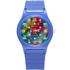 Abstract Modern Plastic Sport Watch (small)