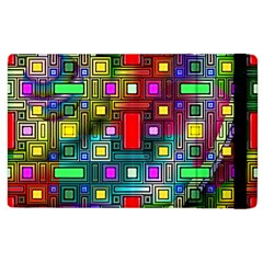 Abstract Modern Apple iPad 3/4 Flip Case