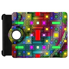 Abstract Modern Kindle Fire HD 7  (1st Gen) Flip 360 Case