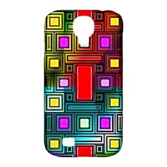Abstract Modern Samsung Galaxy S4 Classic Hardshell Case (pc+silicone)