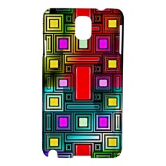Abstract Modern Samsung Galaxy Note 3 N9005 Hardshell Case