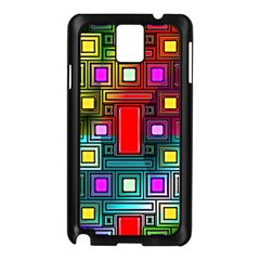 Abstract Modern Samsung Galaxy Note 3 N9005 Case (Black)