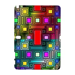 Abstract Modern Samsung Galaxy Note 10.1 (P600) Hardshell Case