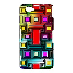 Abstract Modern Sony Xperia Z1 Compact Hardshell Case