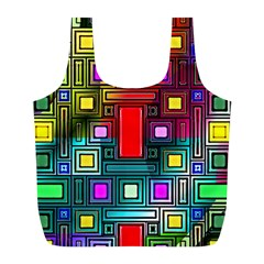 Abstract Modern Reusable Bag (L)
