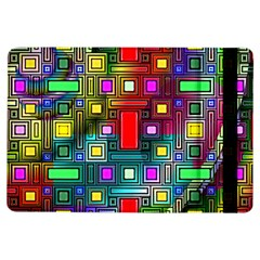 Abstract Modern Apple Ipad Air Flip Case