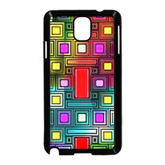 Abstract Modern Samsung Galaxy Note 3 Neo Hardshell Case (Black)