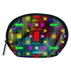 Abstract Modern Accessory Pouch (medium)
