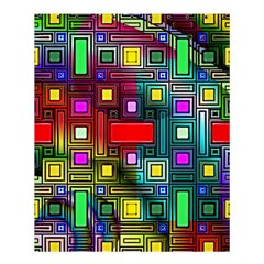Abstract Modern Shower Curtain 60  X 72  (medium)