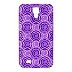 Purple And White Swirls Background Samsung Galaxy Mega 6 3  I9200 Hardshell Case