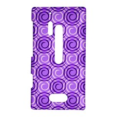 Purple And White Swirls Background Nokia Lumia 928 Hardshell Case