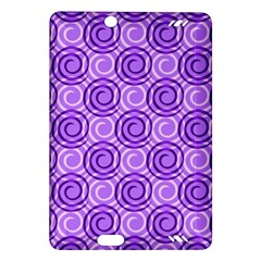 Purple And White Swirls Background Kindle Fire HD 7  (2nd Gen) Hardshell Case
