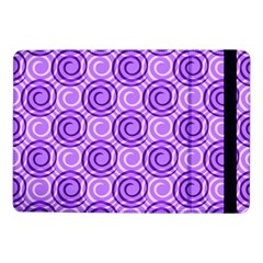 Purple And White Swirls Background Samsung Galaxy Tab Pro 10.1  Flip Case
