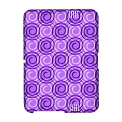Purple And White Swirls Background Kindle Fire (2nd Gen 2013) Hardshell Case
