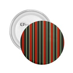 Festive Stripe 2.25  Button