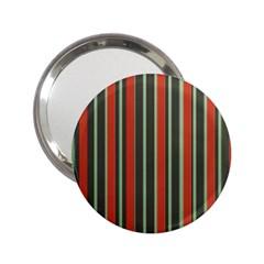 Festive Stripe Handbag Mirror (2 25 )