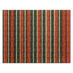 Festive Stripe Jigsaw Puzzle (Rectangle)