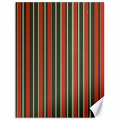 Festive Stripe Canvas 18  X 24  (unframed)
