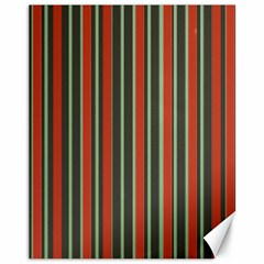 Festive Stripe Canvas 11  x 14  (Unframed)