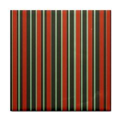 Festive Stripe Face Towel