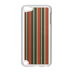 Festive Stripe Apple iPod Touch 5 Case (White)