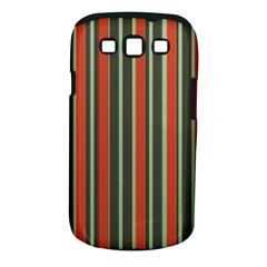 Festive Stripe Samsung Galaxy S Iii Classic Hardshell Case (pc+silicone)