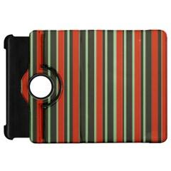Festive Stripe Kindle Fire HD 7  (1st Gen) Flip 360 Case
