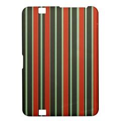 Festive Stripe Kindle Fire HD 8.9  Hardshell Case
