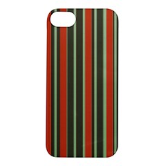Festive Stripe Apple iPhone 5S Hardshell Case