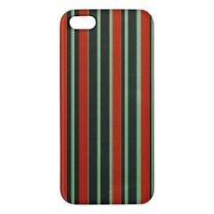 Festive Stripe iPhone 5S Premium Hardshell Case
