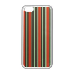 Festive Stripe Apple iPhone 5C Seamless Case (White)